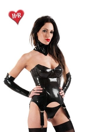 Guêpière Hot Bitch latex