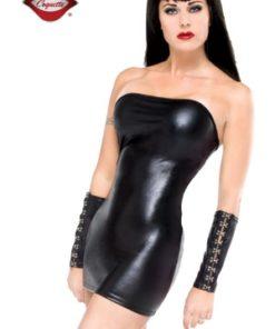 Robe Tube Moulante Lycra Noir Sexy - Darque