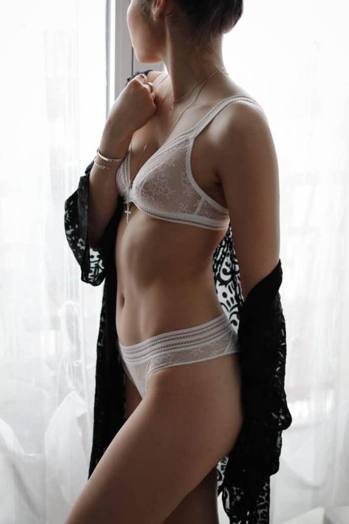 Bien dans sa lingerie