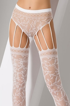 Collants S003 - Blanc-4