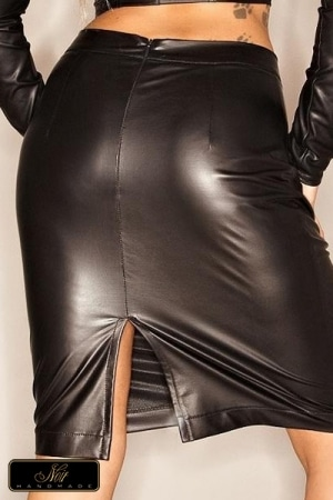 Jupe wetlook Outfit-4