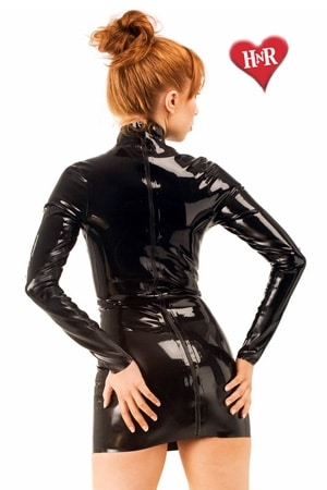 Robe Midnight latex-3