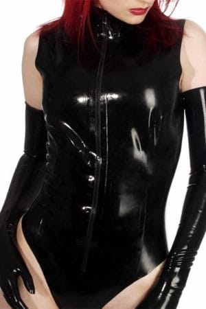 Body Sleeveless latex-2