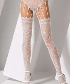 Collants S003 - Blanc-3
