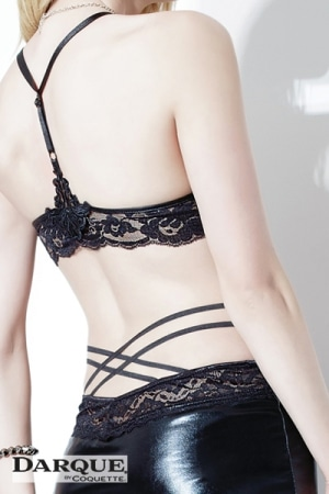 Jupe Lace Cross Darque-2