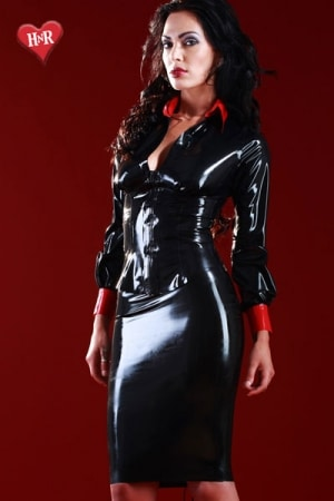 Jupe latex Mistress-2