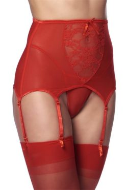 wide-garter-belt-with-stocking-red