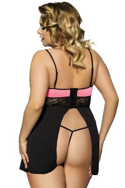 Nuisette-sexy-noire-et-rose-R80Pdos