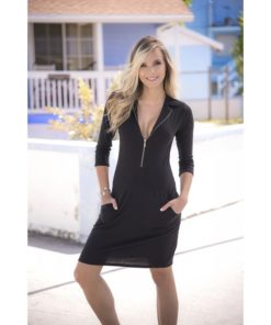 Robe Dress black 4939