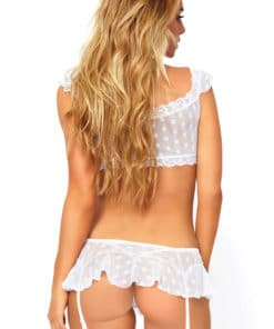 Ensemble coquin Mesh White