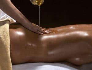 massage avec bougie