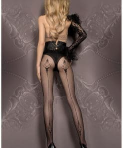 Collants voile noirs