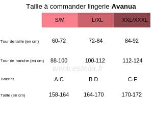tailles Avanua