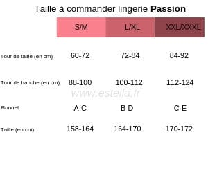 tailles-Passion