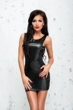 Robe courte en wetlook