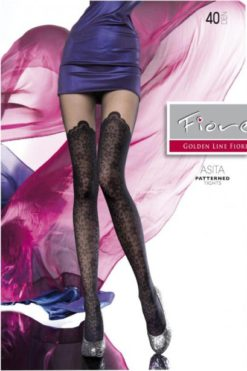 Collants noir Asita