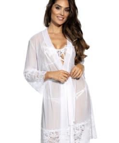 Robe de chambre blanche Axami