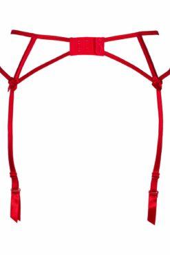 Portes jarretelles rouge V-8862