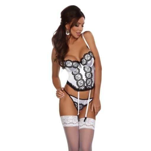 Michele corset - Blanc