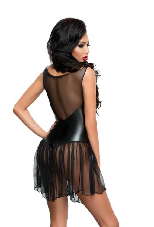 Robe sexy noir Xymena