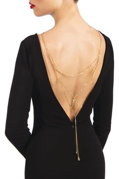 Magnifique collier de dos Lise