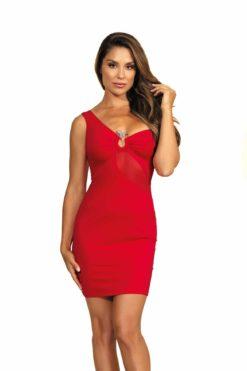 Robe rouge V-9089