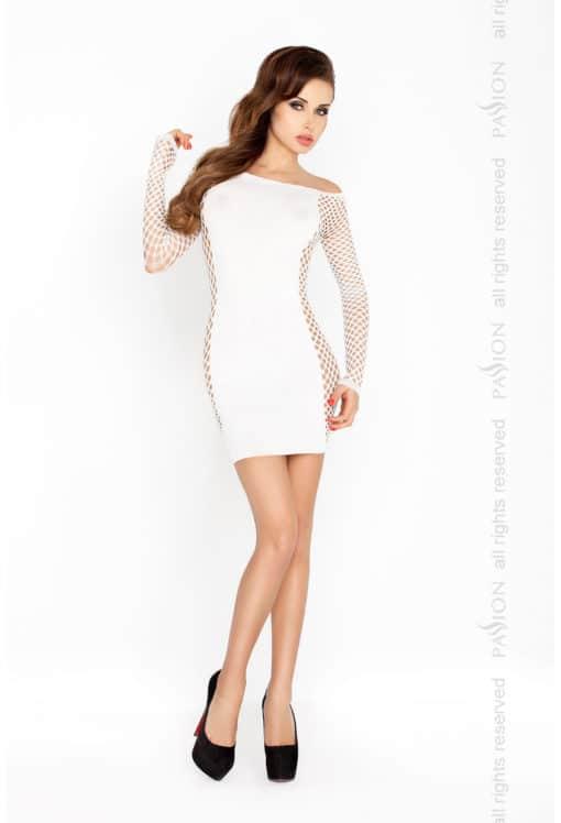 Mini robe moulante noire ou blanche BS025