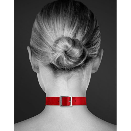 collier-en-cuir-anneau-rouge-2