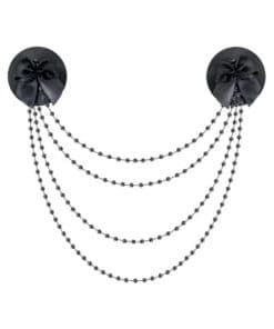 Nipples perles et noeuds