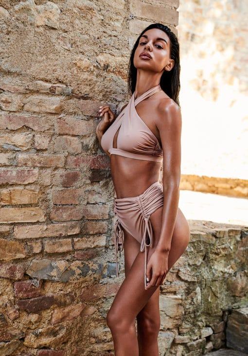 Maillot de bain tanga nude