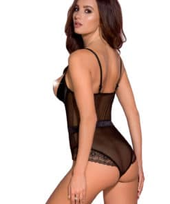 Lingerie coquine body ouvert Hanan
