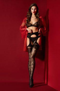 amorosa-collants-30-den-noir-qualite-premium