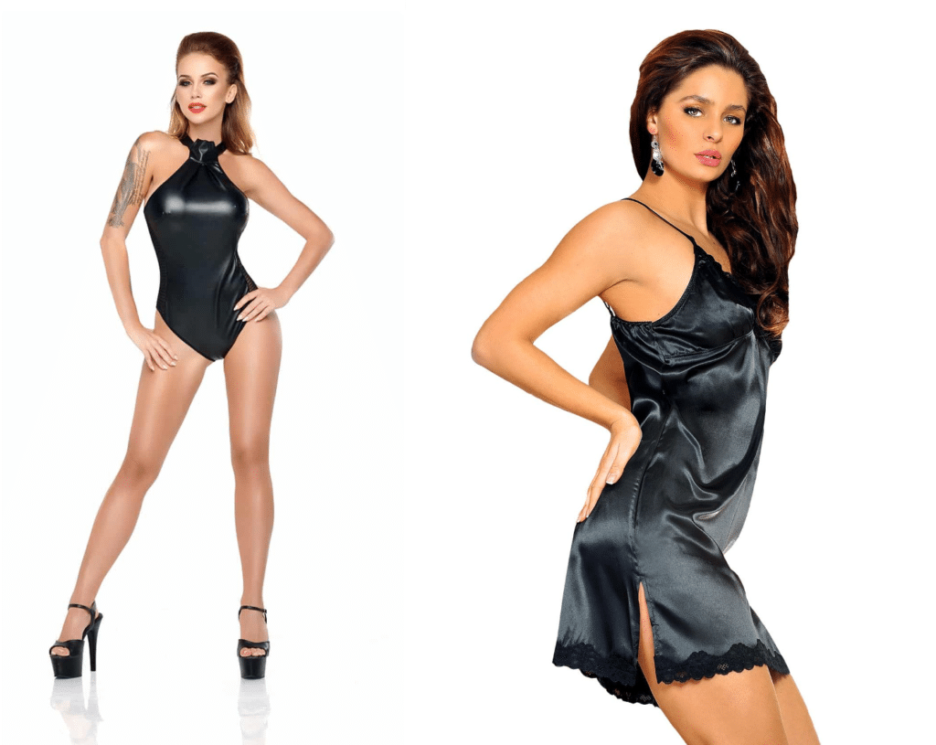 lingerie cuir ou soie