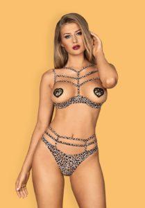 lingerie leopard