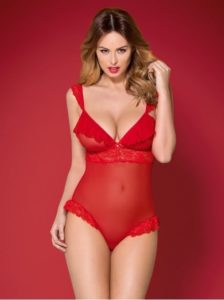 Body rouge Obsessive