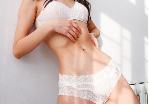 lingerie blanche