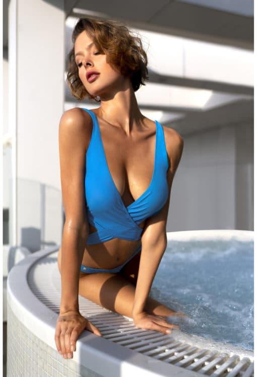 Bikini bleu Cobalt