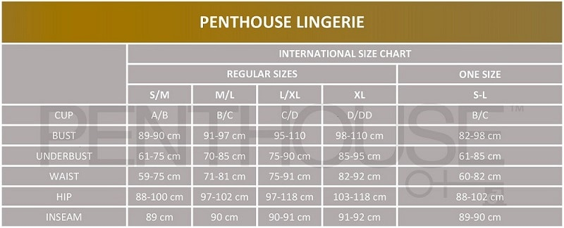 Taille Penthouse