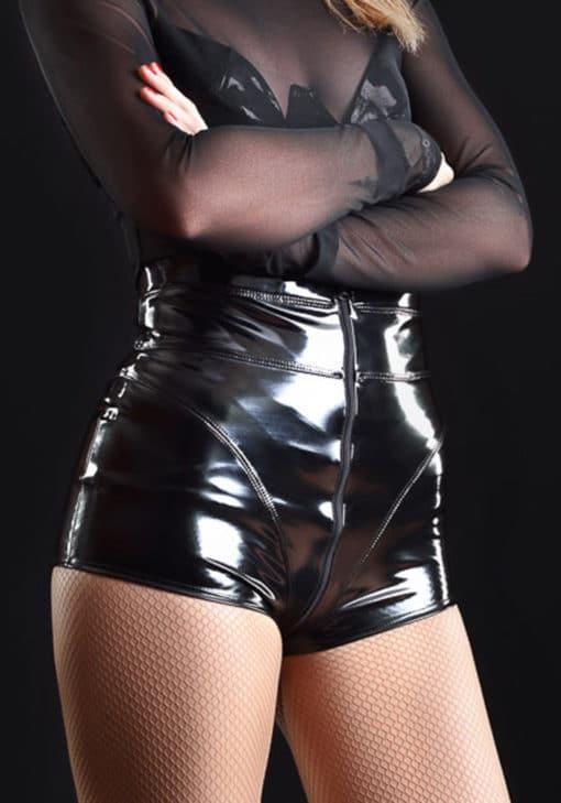 jena-short-vinyle-noir