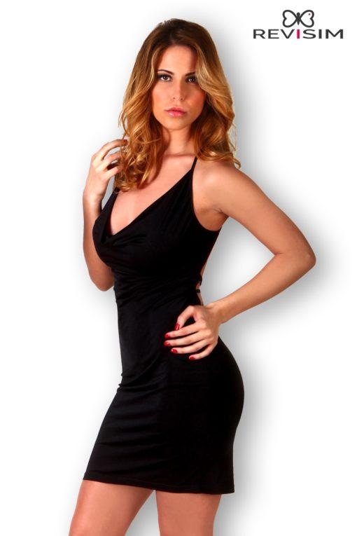Petite robe noire dos nu