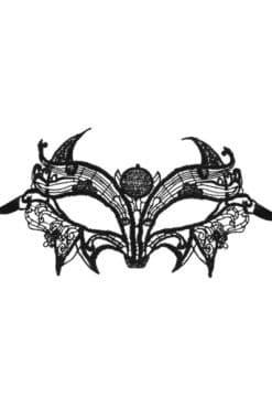 Masque en guipure Astre noir